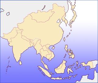 アジアの地図